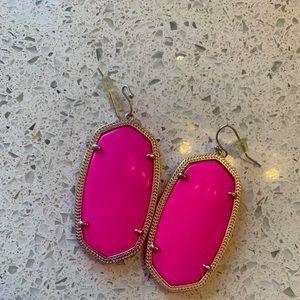 Pink Danielle earrings